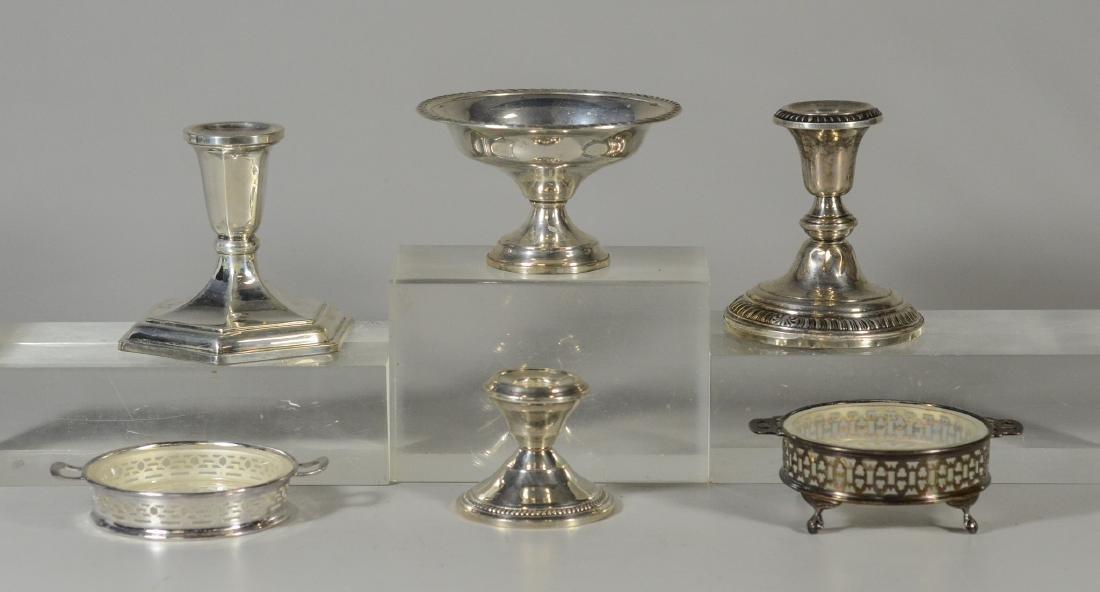 (6) Pcs Sterling silver tableware