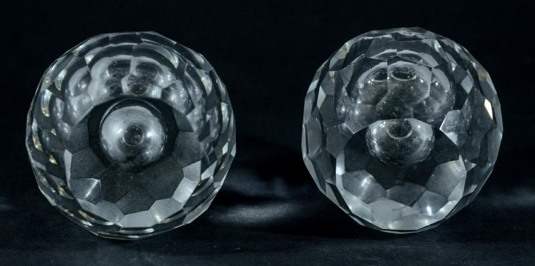 PR of Tiffany & Co faceted crystal candle holders - 3