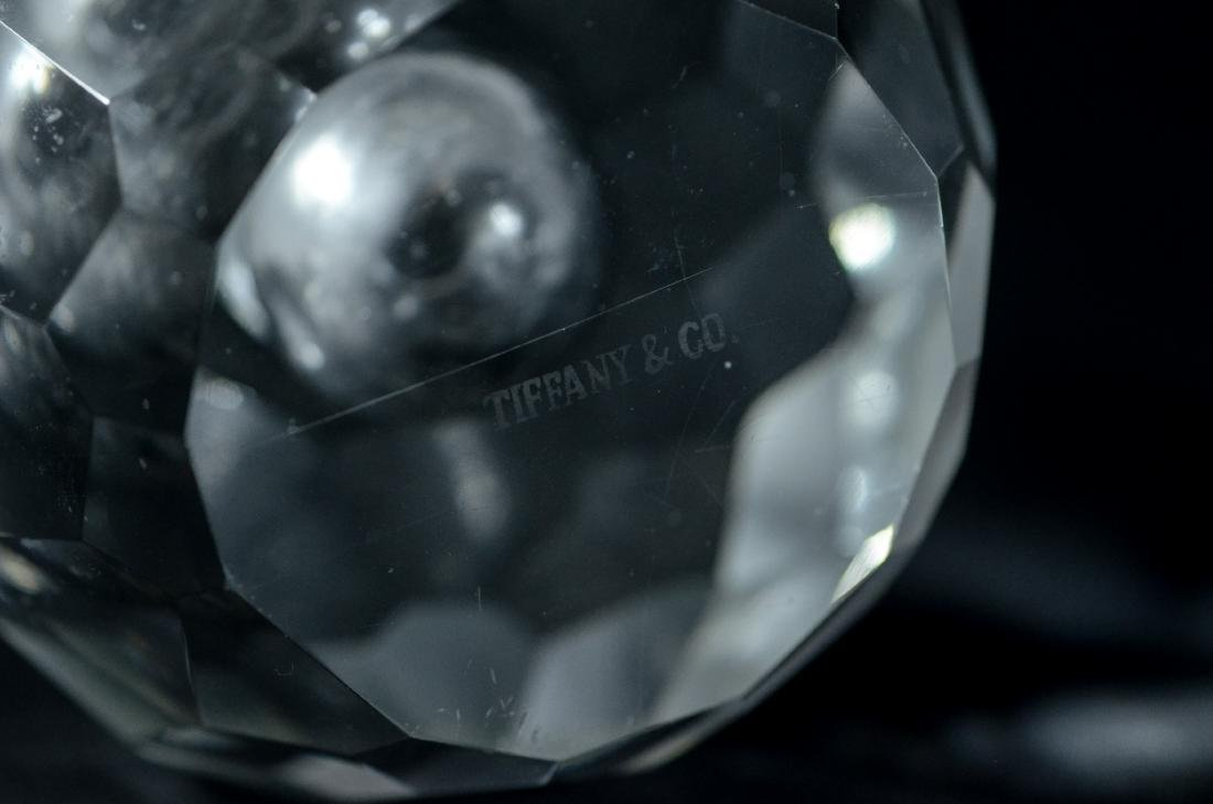 PR of Tiffany & Co faceted crystal candle holders - 4