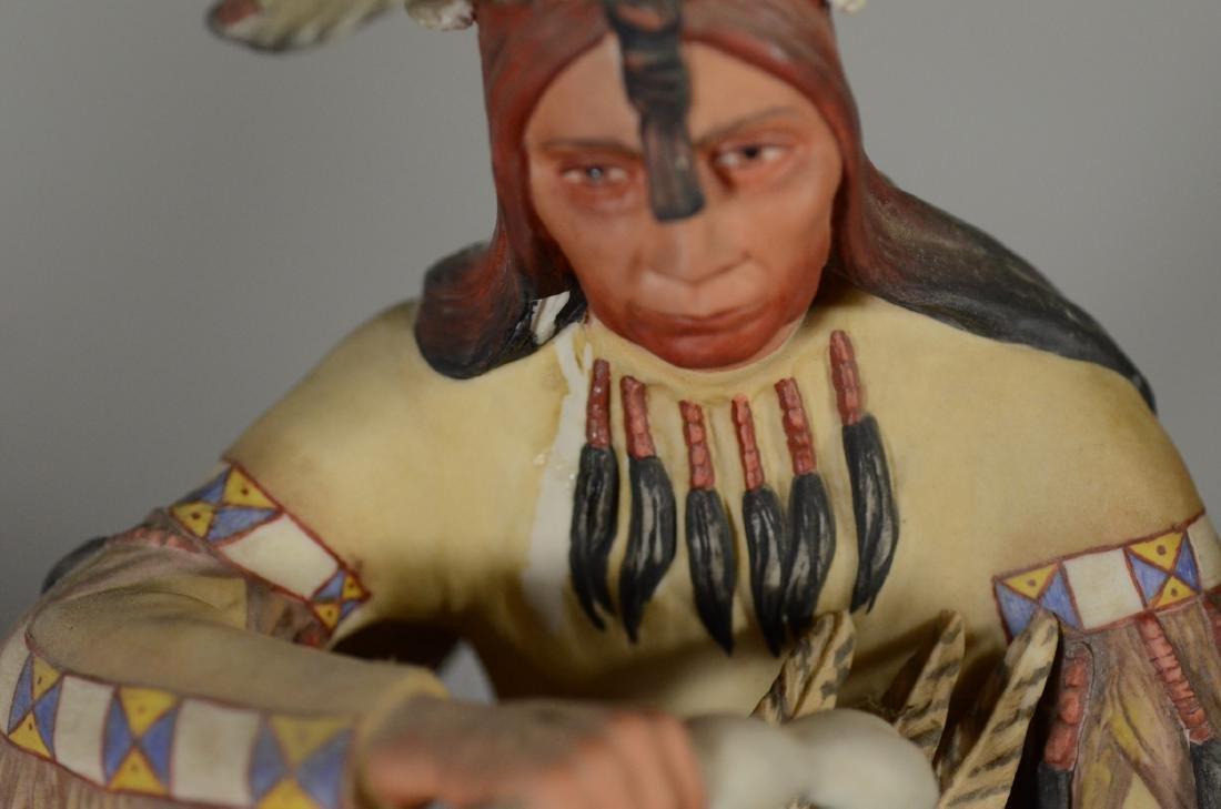 4 Cybis Native American Figurines - 5