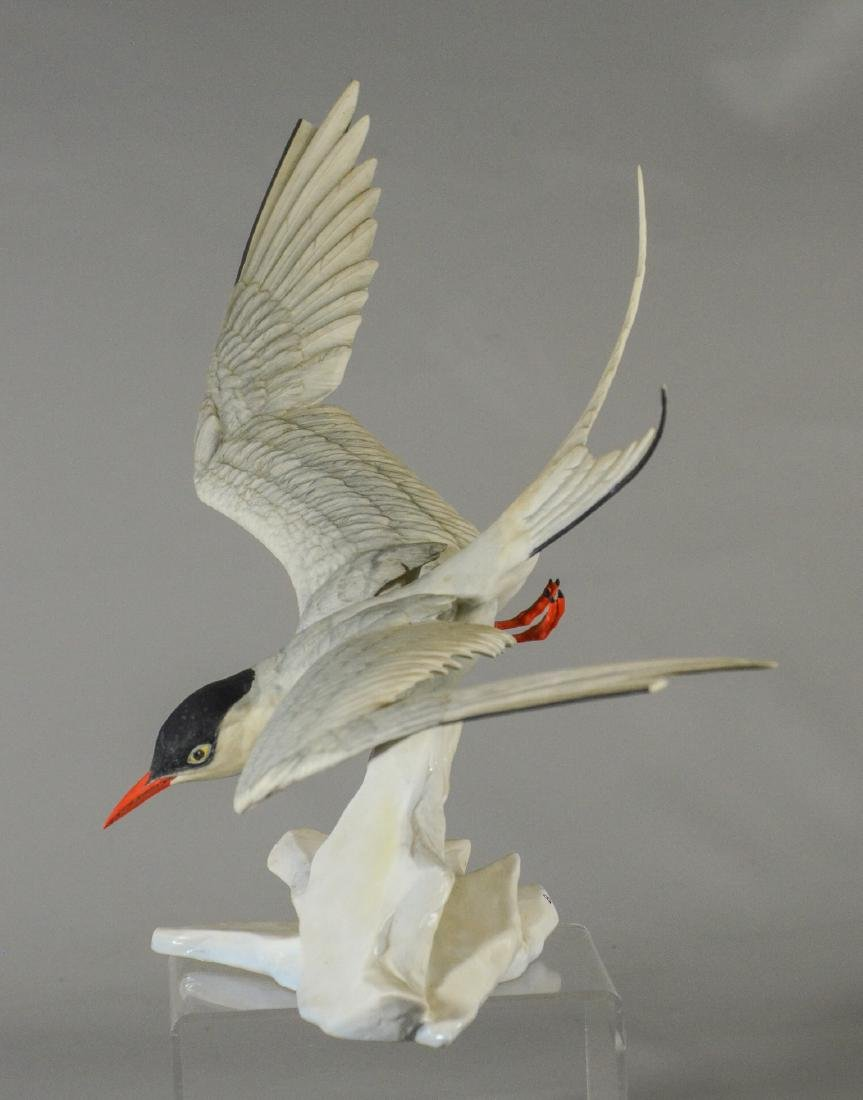 Boehm porcelain Arctic Tern bird figurine - 2