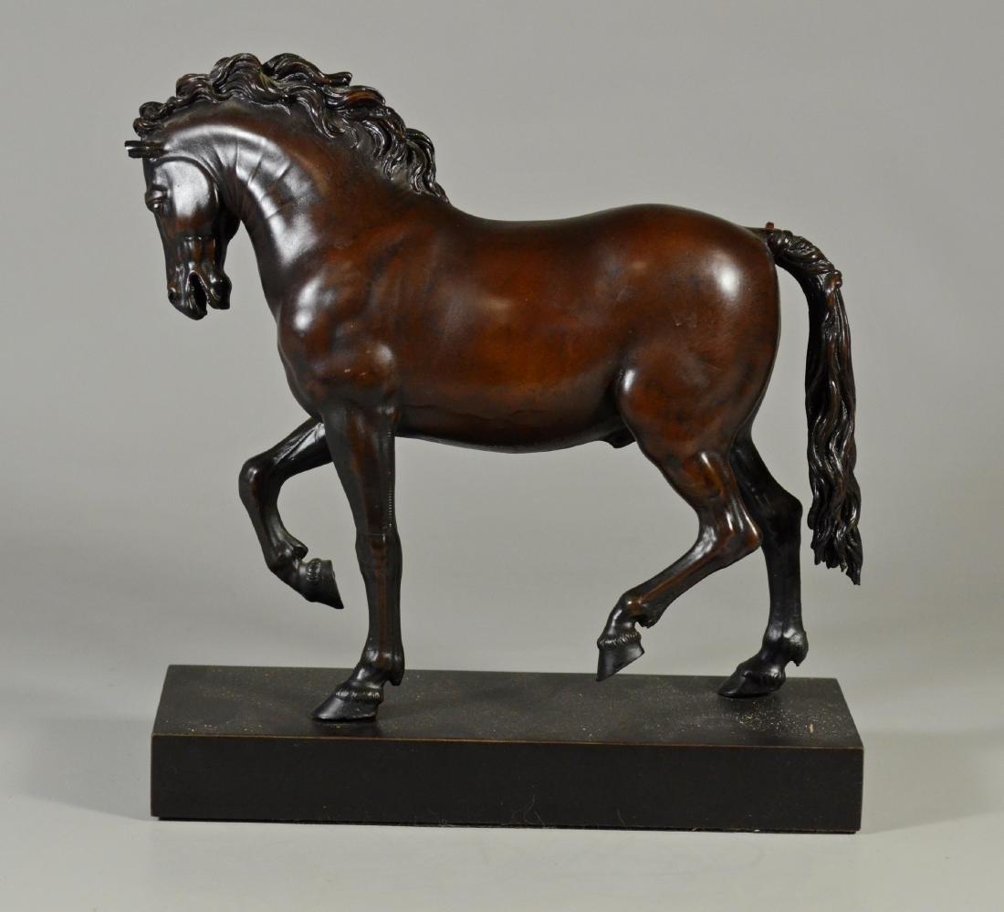 Giambologna horse sculpture, MMA reproduction