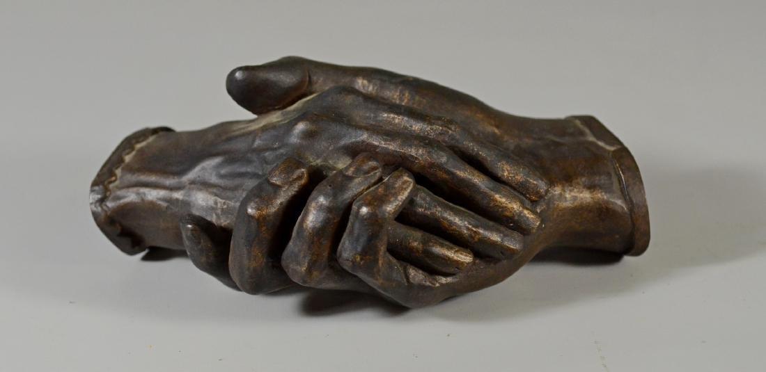 Harriet Hosmer,  Hands of Robert & Elizabeth Browning