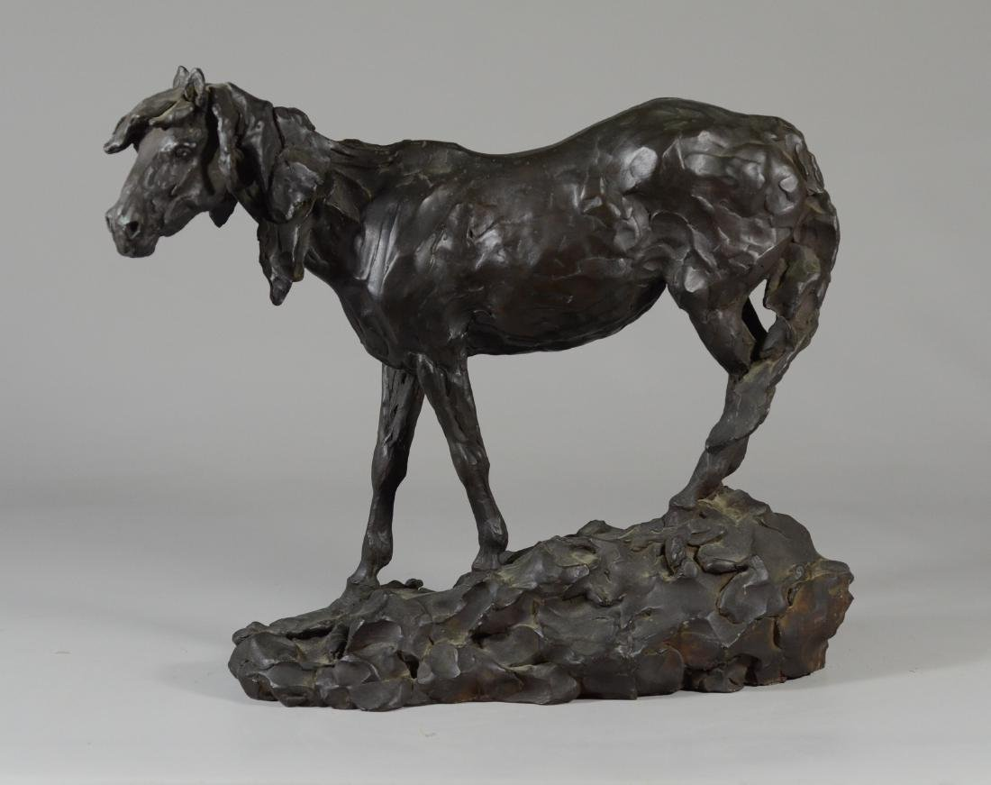 Grant Speed bronze horse sculpture