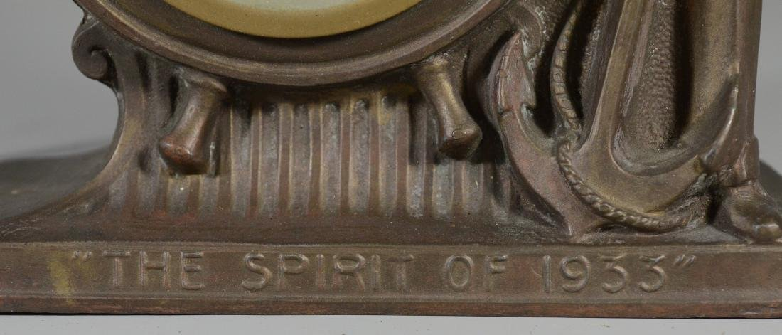 "Gibraltar Electric Clock Co ""The Spirit of 1933"" - 4"