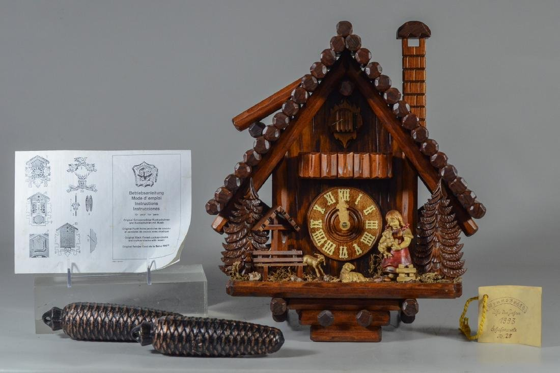 Bruno Spath German cuckoo clock, new in box