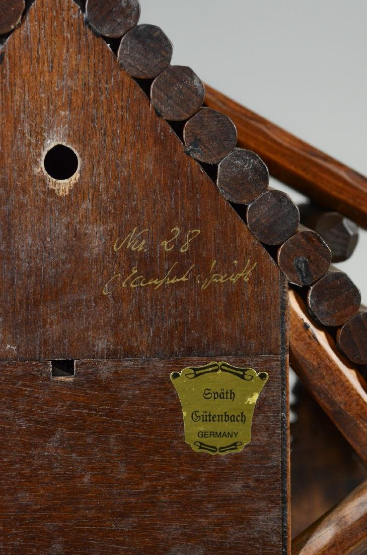 Bruno Spath German cuckoo clock, new in box - 9