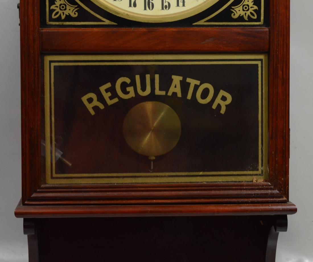 Replica regulator calendar clock by HT Clockmakers - 2
