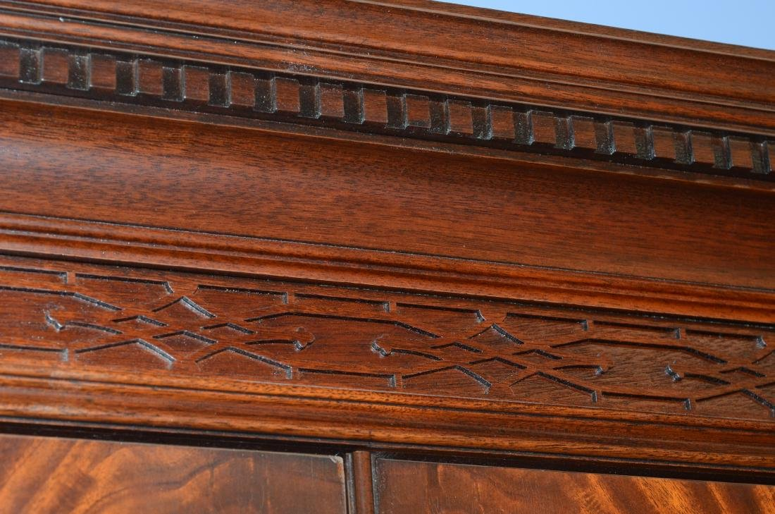 Henkel Harris mahogany entertainment cabinet - 4