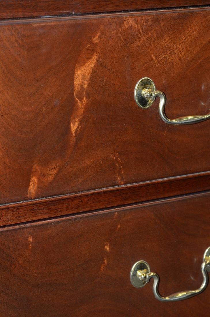 Henkel Harris mahogany entertainment cabinet - 7