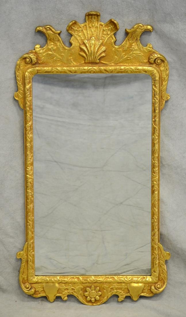 Kittinger Colonial Williamsburg gilt carved mirror