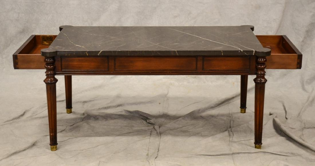 Beacon Hill marbletop coffee table