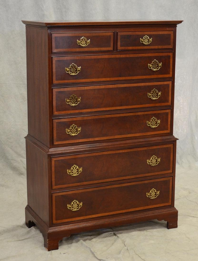 Hickory Furniture Co Chest on chest,