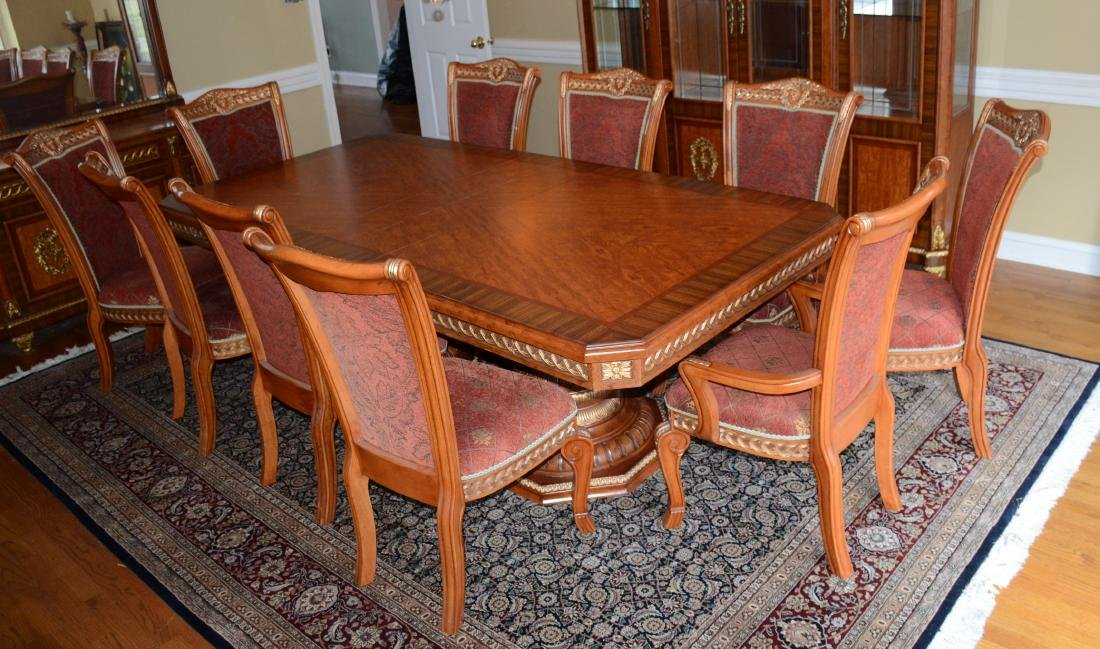 (11) Pc French style Dining Room Set