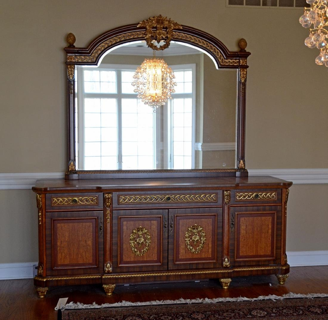 French Style Sideboard w/ mirror