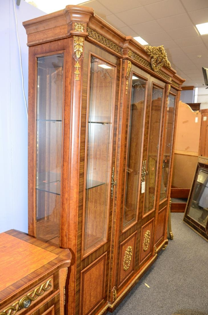 French Style 4 door display cabinet - 10
