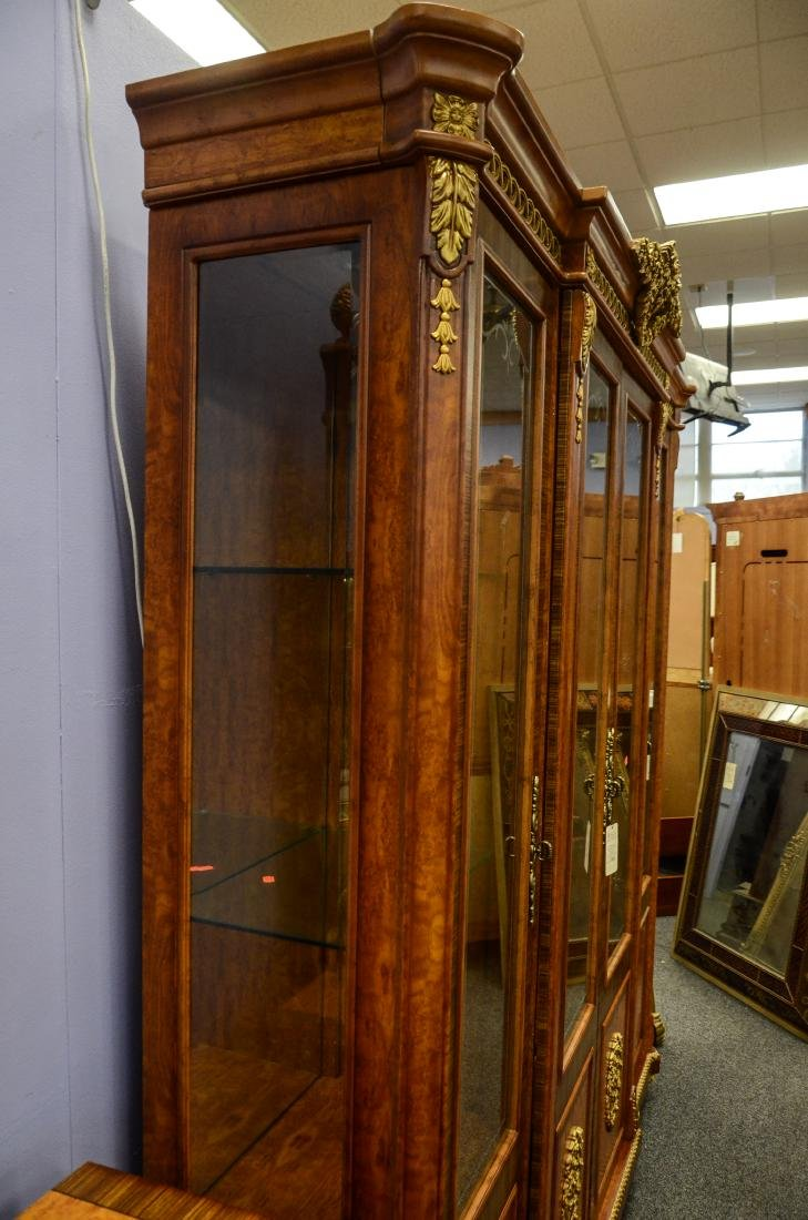 French Style 4 door display cabinet - 3