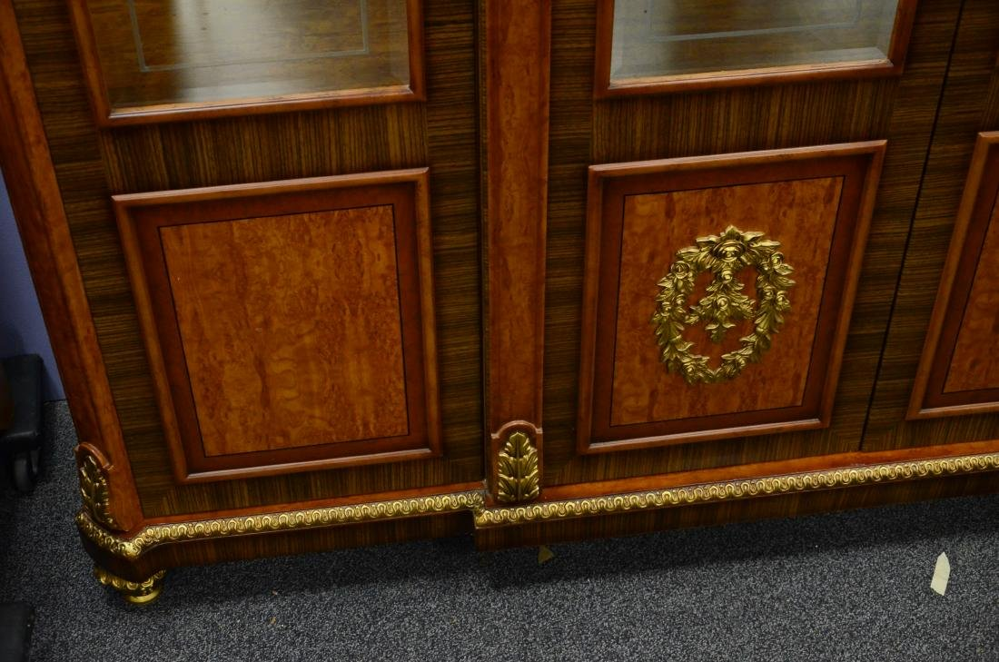 French Style 4 door display cabinet - 4
