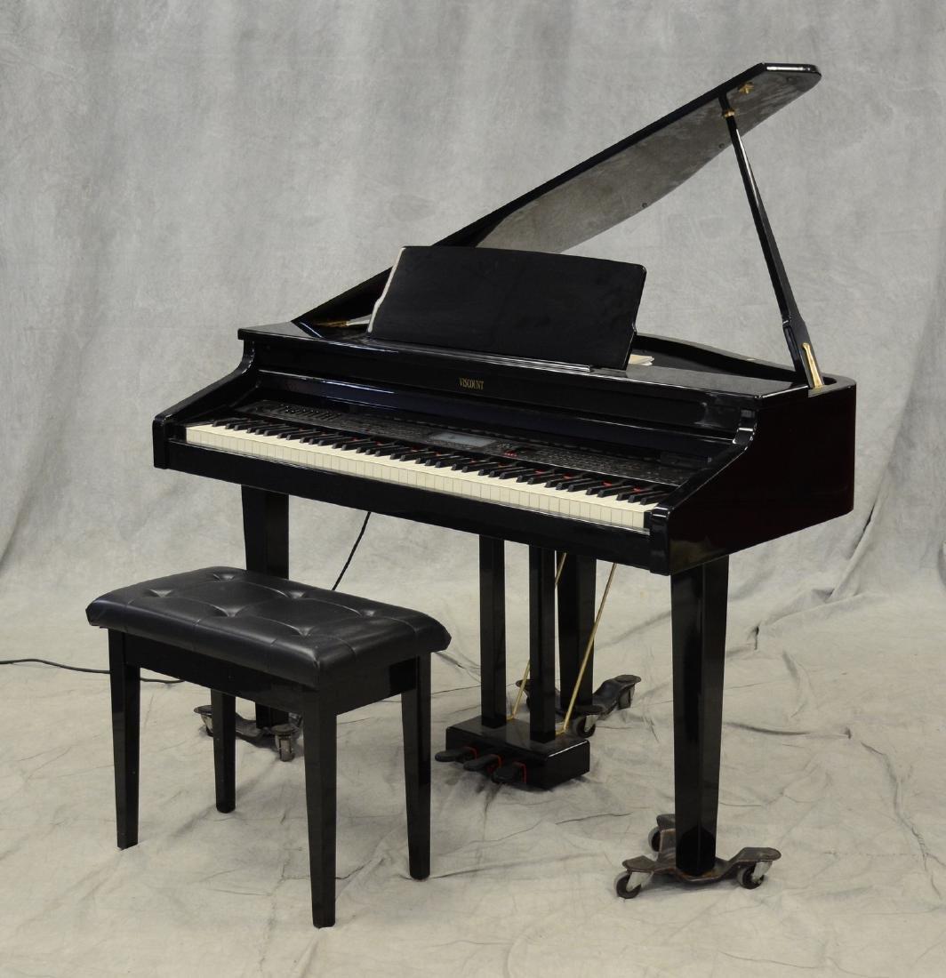 Digital Baby Grand Piano >> Viscount Maestro Xg Digital Petite Baby Grand Piano Feb 20 2018