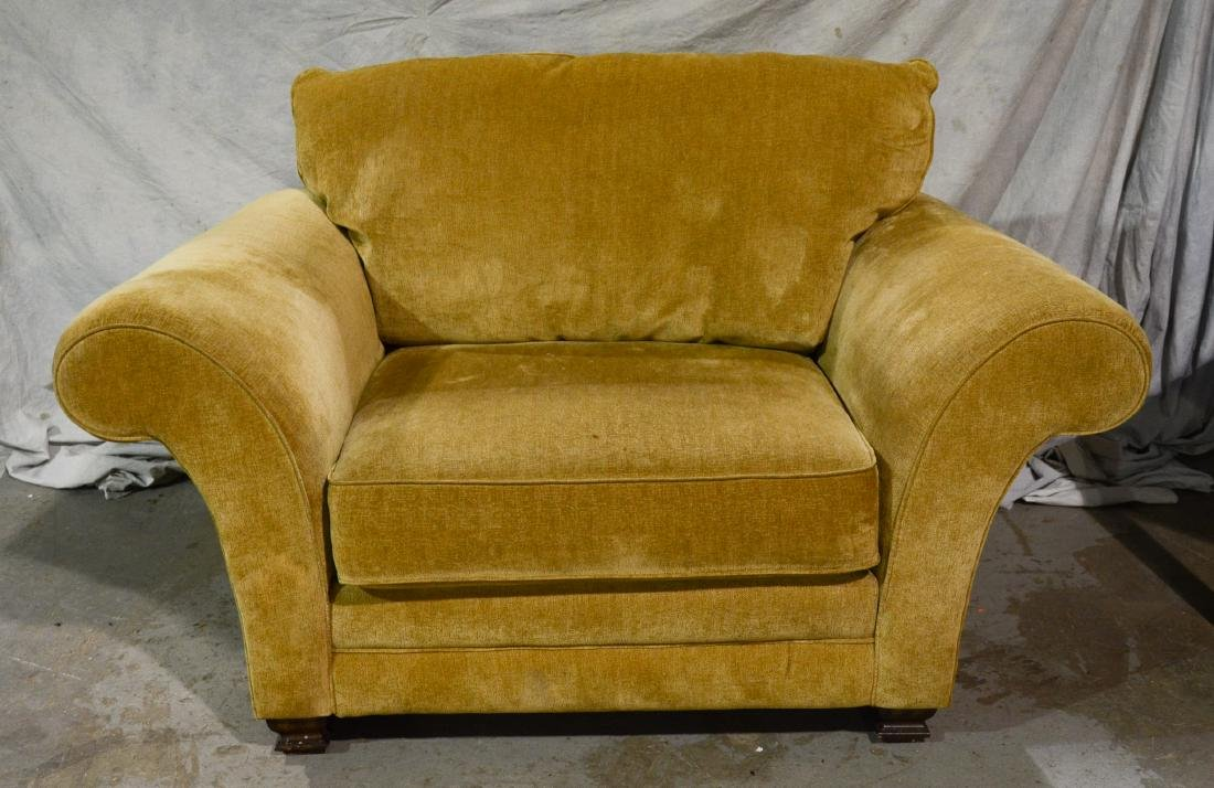 Lane oversized upholstered lounge chair, camel color