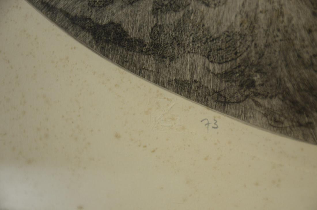 "Louis Icart original etching, ""Sleeping Beauty"" - 4"
