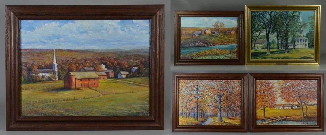 Mildred Campbell Ross, 5 New England landscape