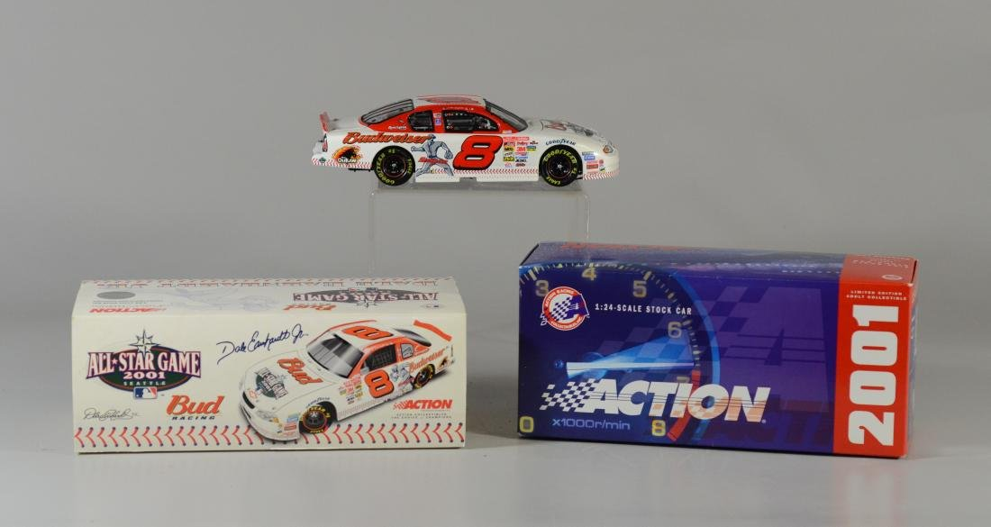 Dale Earnhardt Jr. Autographed 2001 All Star Game Car