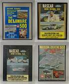 4 Vintage Race Day Advertising Posters Dover Downs