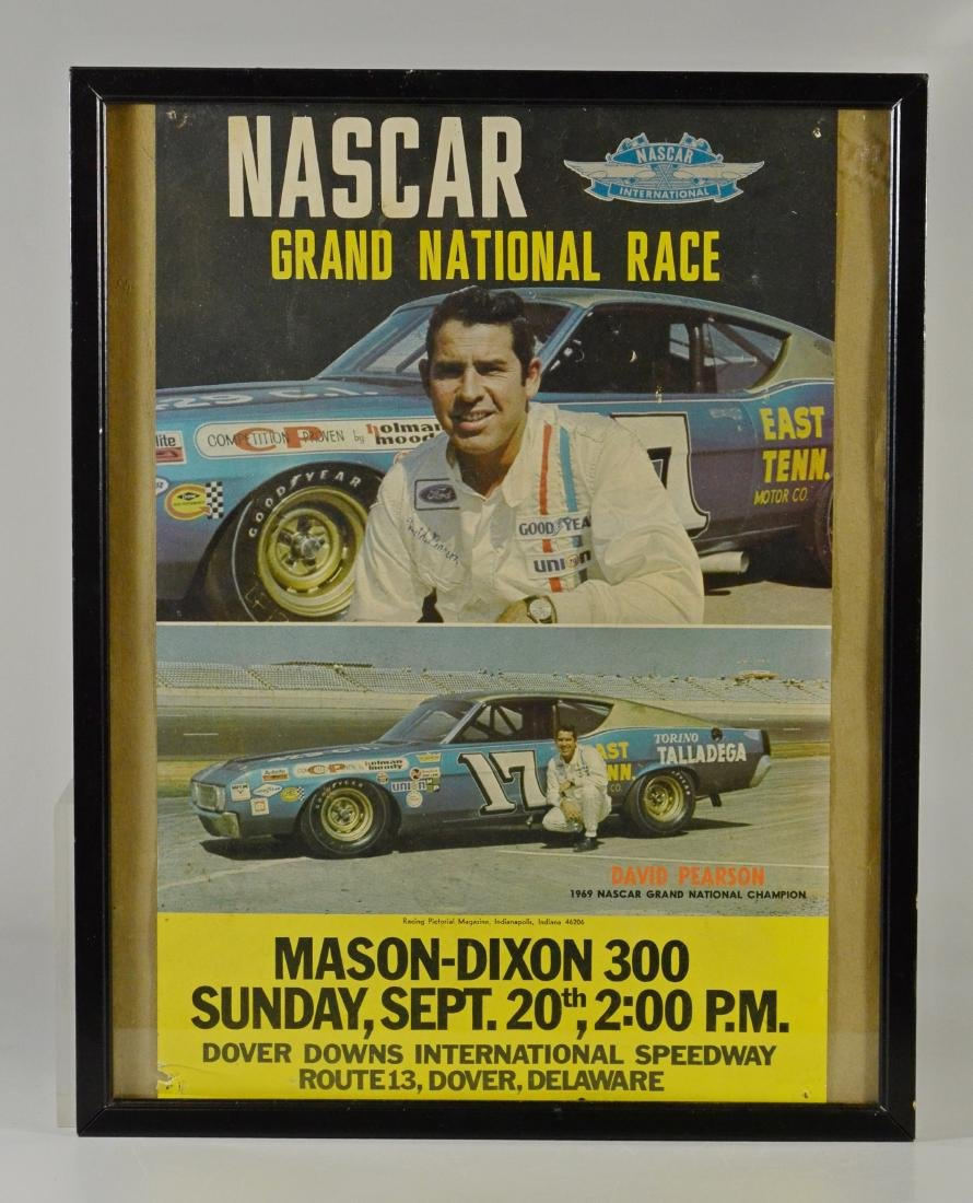 (4) Vintage Race Day Advertising Posters Dover Downs - 3