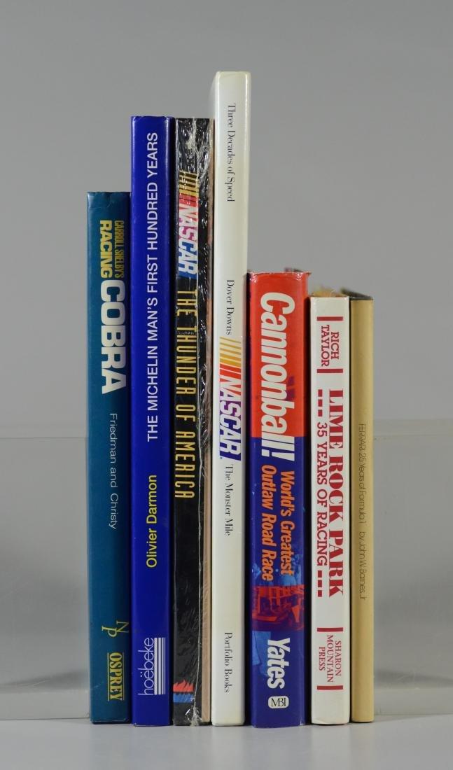 7 NASCAR Books - 4 Signed