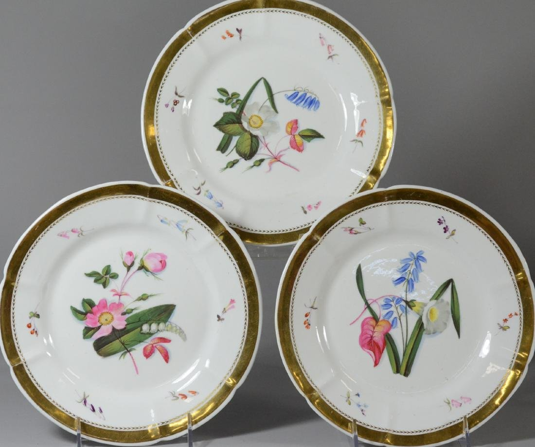 (6) porcelain plates, Spode & Limoges - 4
