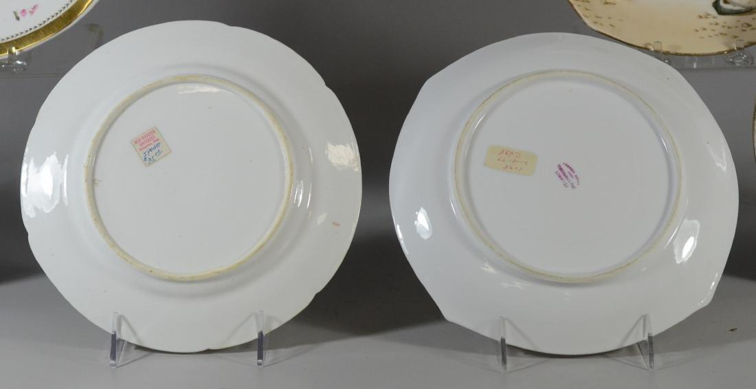 (6) porcelain plates, Spode & Limoges - 5