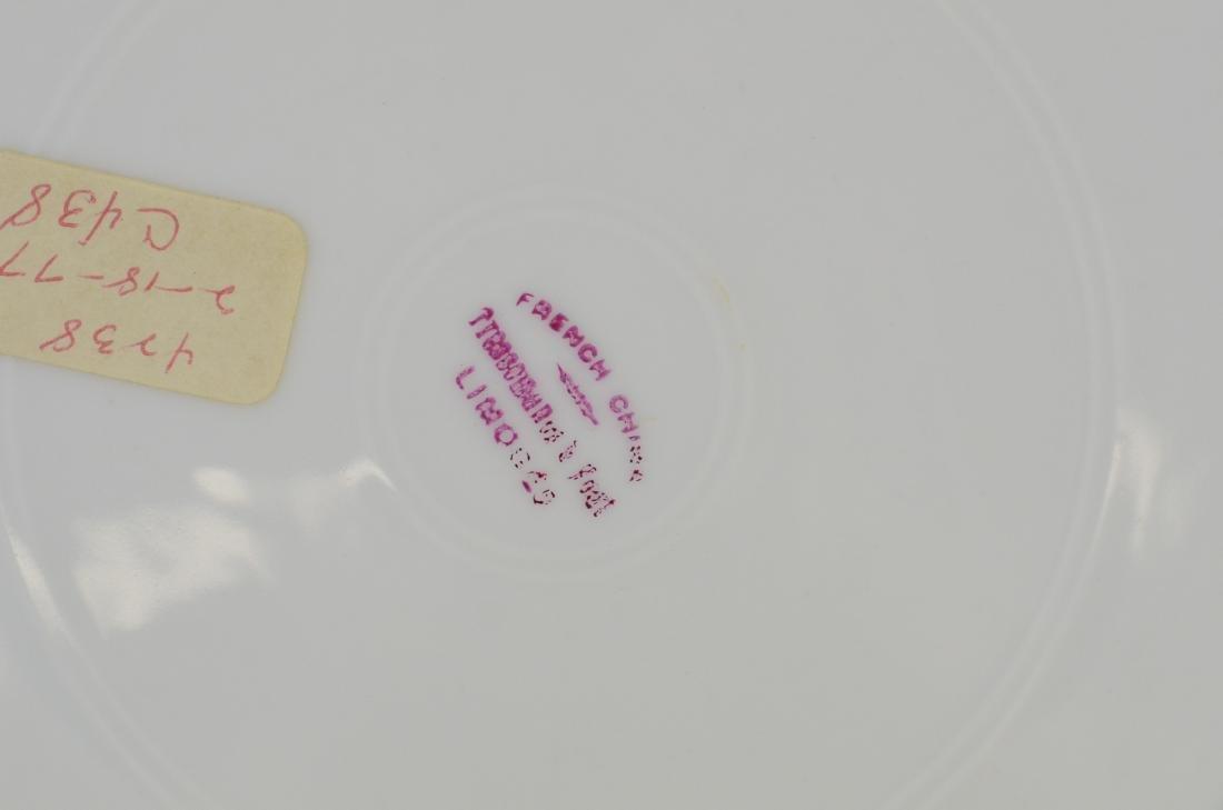(6) porcelain plates, Spode & Limoges - 6