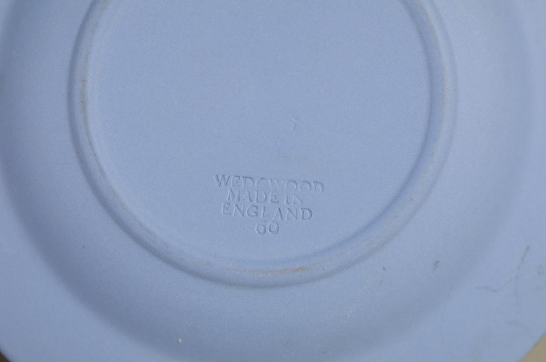 "(7) piece Wedgwood, lavendar covered jar, 2 3/4"" h, - 2"