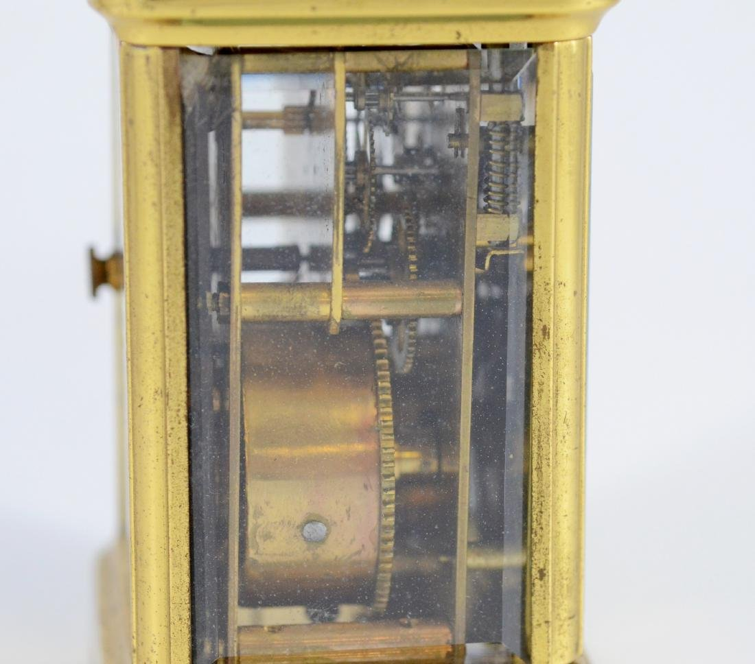 "Waterbury hour repeating carriage clock, 5 1/2"" h - 2"