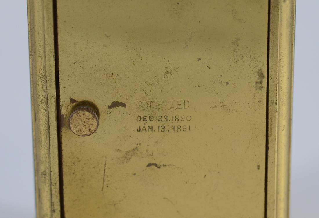 "Waterbury hour repeating carriage clock, 5 1/2"" h - 3"