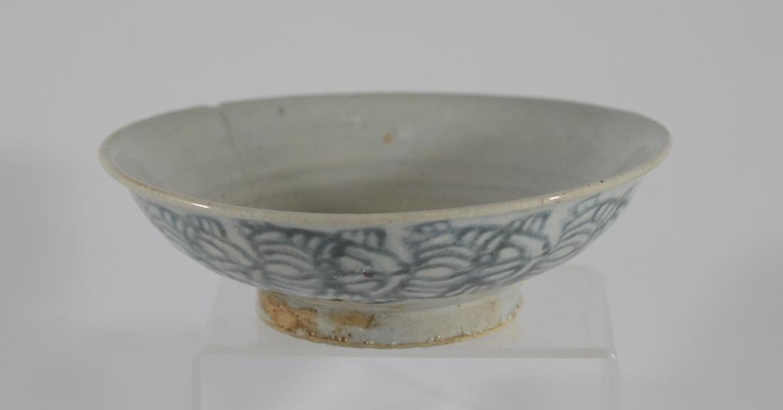 Song-Ming Dynasty grey glazed small bowl