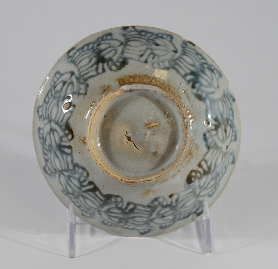 Song-Ming Dynasty grey glazed small bowl - 3