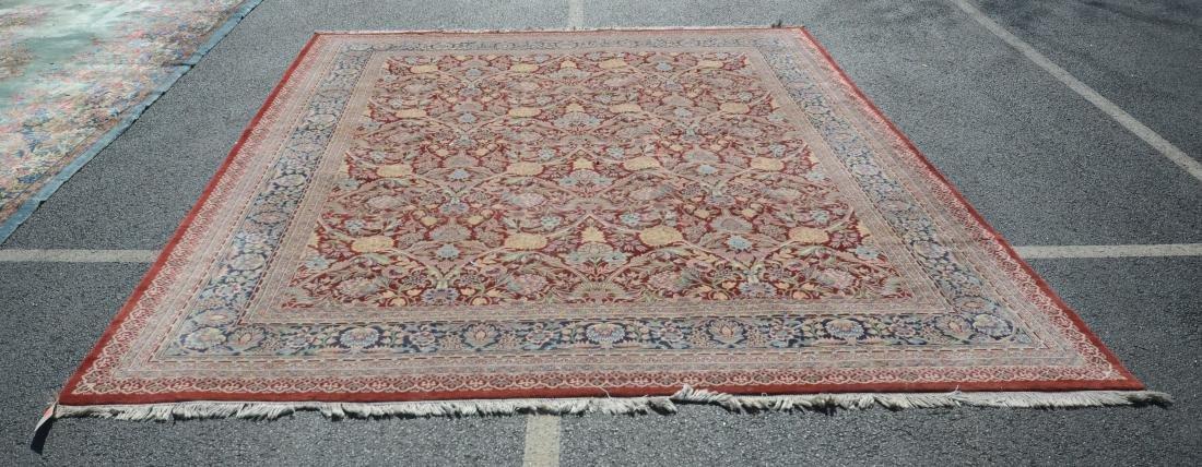 "13'10"" x 10'2"" oriental rug"