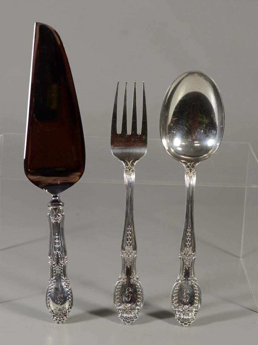(57) pieces Tiffany & Co Richelieu sterling flatware - 3