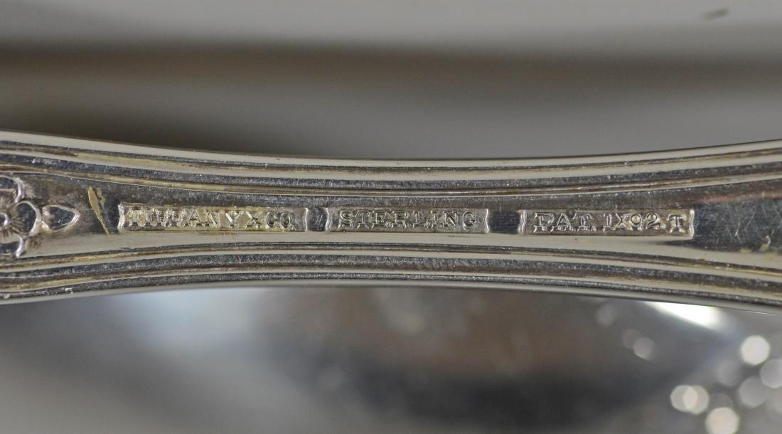 (57) pieces Tiffany & Co Richelieu sterling flatware - 4