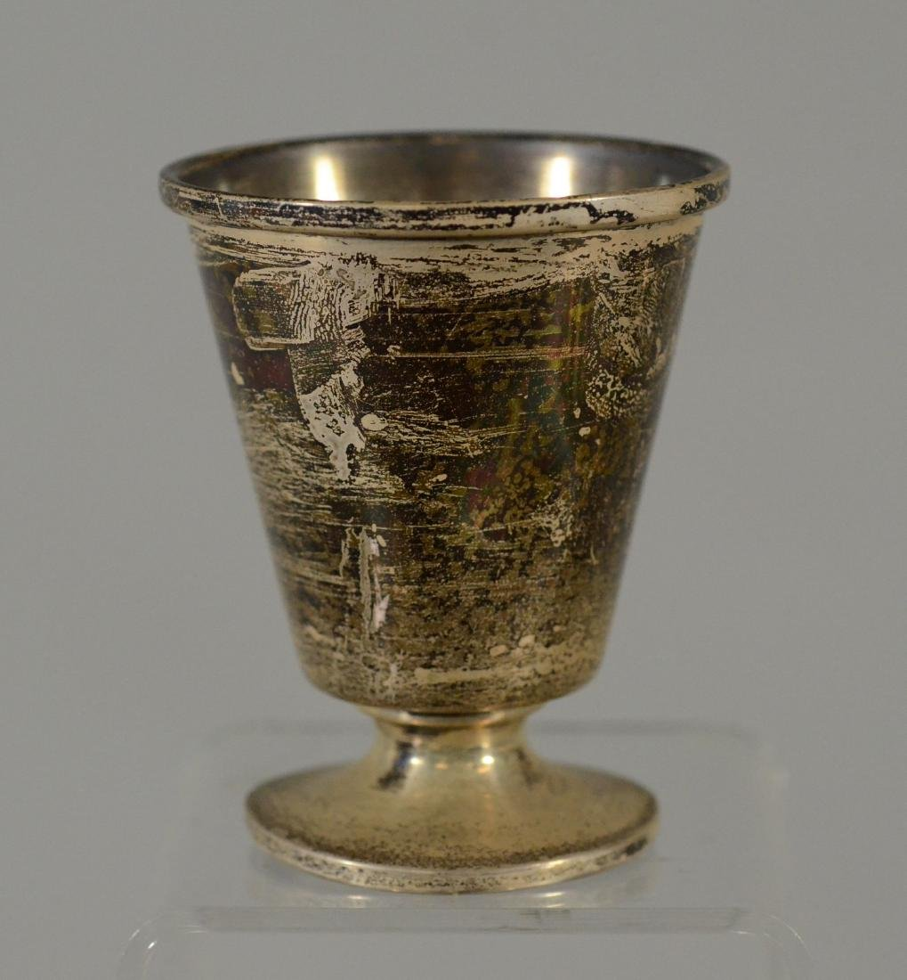 """8 Sterling silver trophy cups marked """"DC Top Score"""" - 2"""