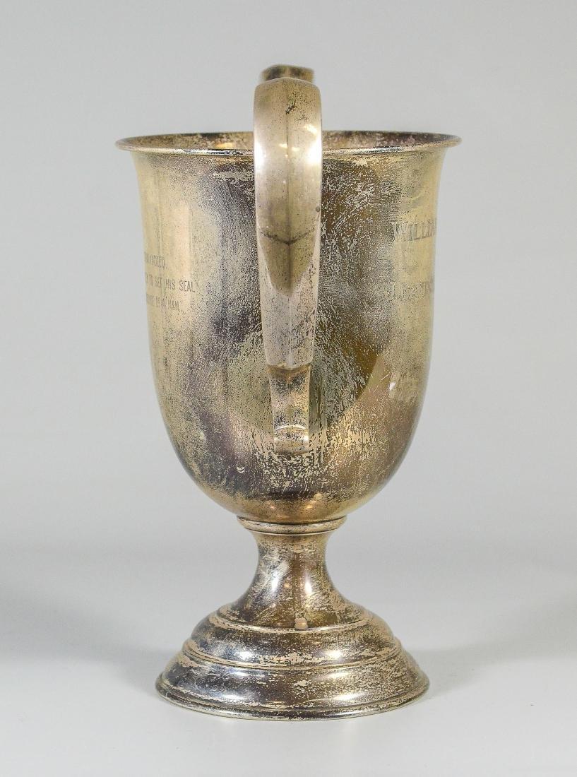 J E Caldwell Sterling Silver Trophy Urn - 3