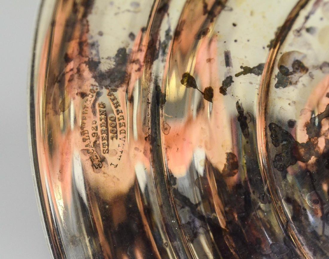 J E Caldwell Sterling Silver Trophy Urn - 4