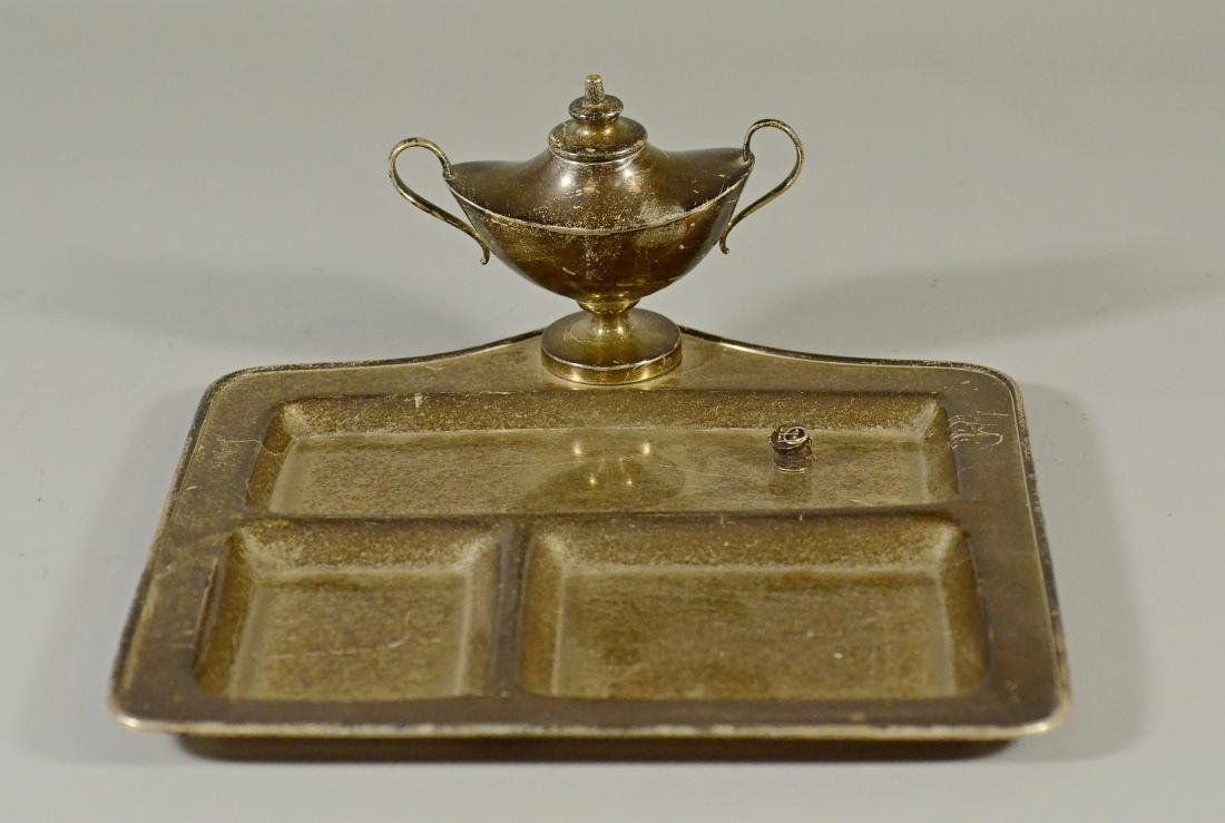 Sterling Silver Desk Tray by Cartier