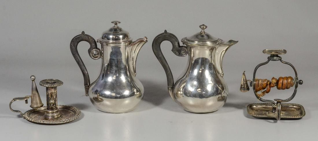 4 Pieces Plated Silver including Christofle