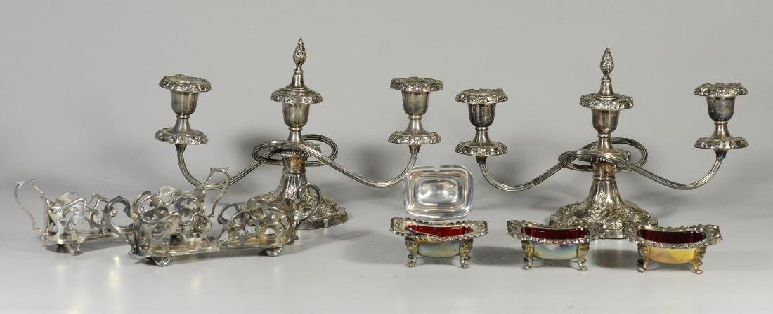 7 Pieces silverplated items
