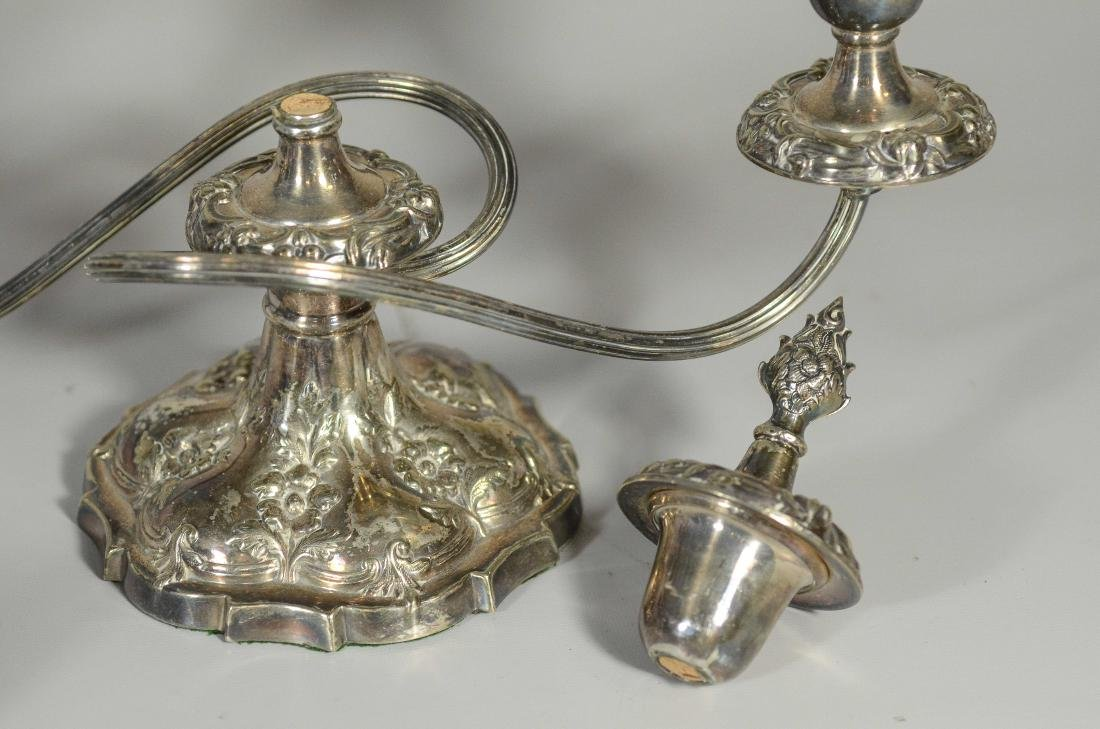 7 Pieces silverplated items - 2