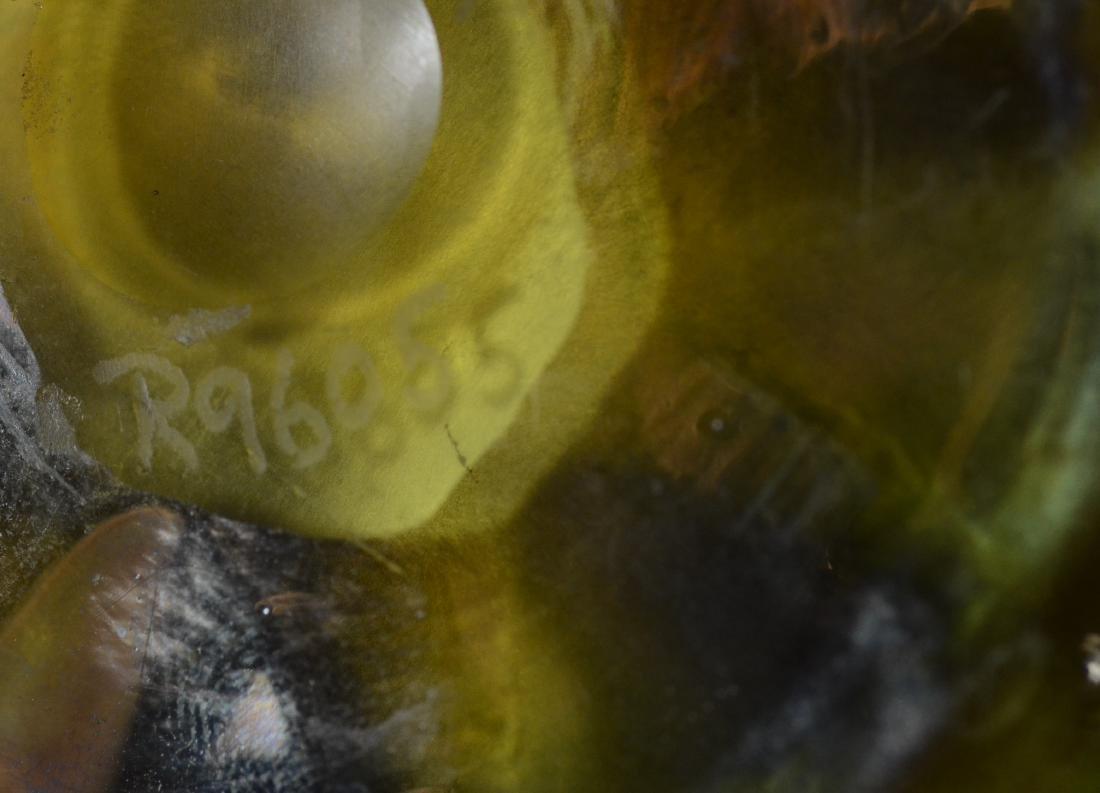 Louis Comfort Tiffany Favrile art glass dish, signed - 4