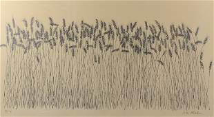 """Ben Shahn, lithograph """"Wheat"""""""
